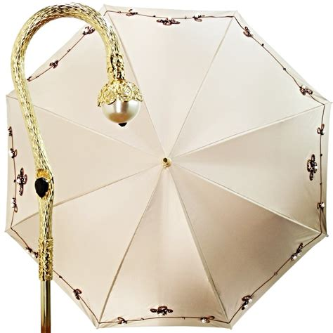 Pearl Umbrella pearl and bronze artisan made umbrella with precious