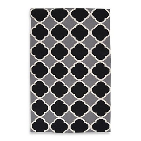 Surya Abrantes Rug In Grey White Black Bed Bath Beyond Gray And White Bathroom Rugs
