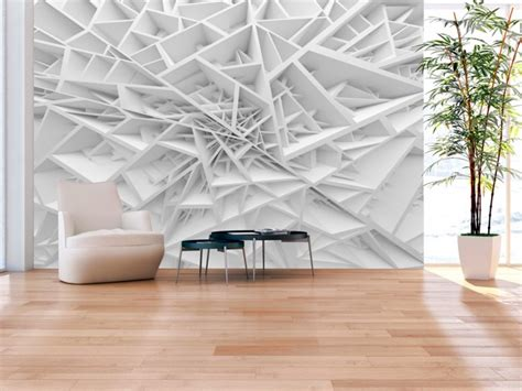 Murah 3d Wall L Decoration Spyder photo wallpaper white spider s web optically magnifying interior 3d and perspective wall