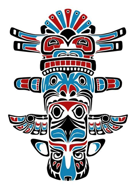 tribal totem pole tattoo designs totem graphic design search tatts