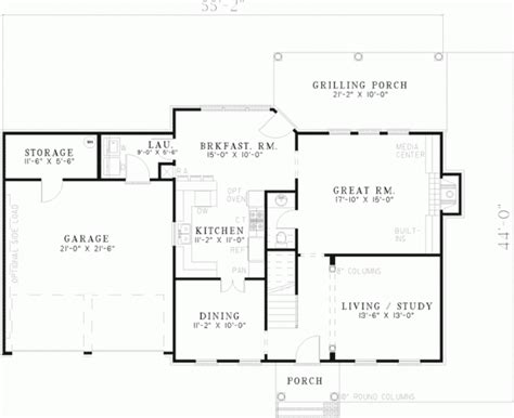 unique colonial home floor plans with pictures new home