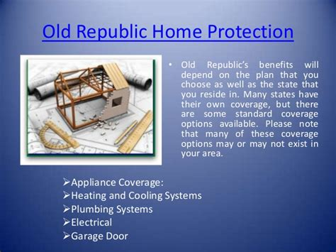 old republic home warranty plans old republic home warranty