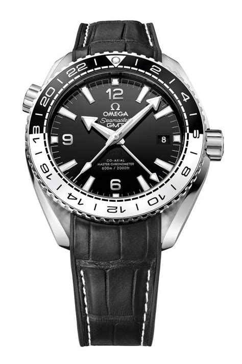 Omega Seamaster Gmt Leather Cronograph omega seamaster planet 600m co axial master chronometer gmt 43 5 mm time transformed