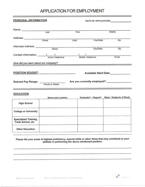 fill in the blank resume template for highschool students free printable fill in the blank resume templates student