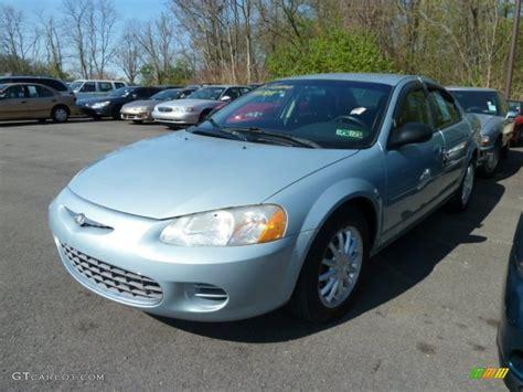2002 Chrysler Sebring Sedan by 2002 Sterling Blue Satin Glow Chrysler Sebring Lx Sedan