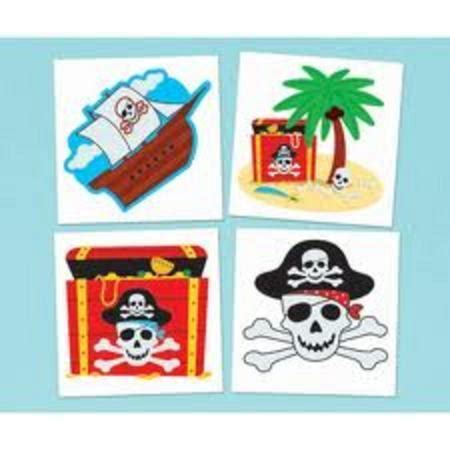 tattoo kit perth pirate party supplies party supplies perth balloon world