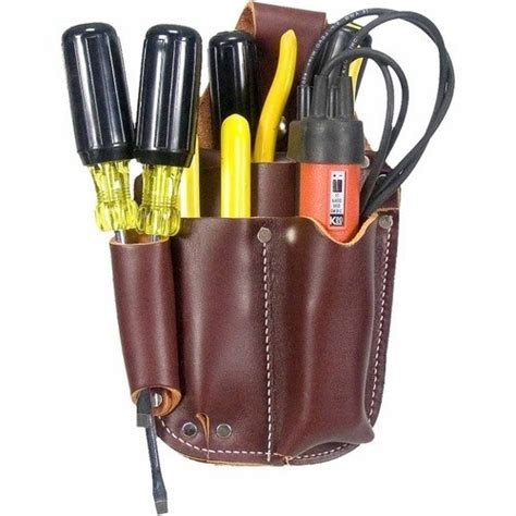 electricians tool belt occidental leather bag pouch caddy