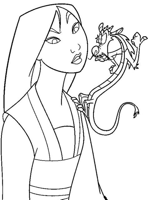 top 71 mushu coloring pages free coloring page