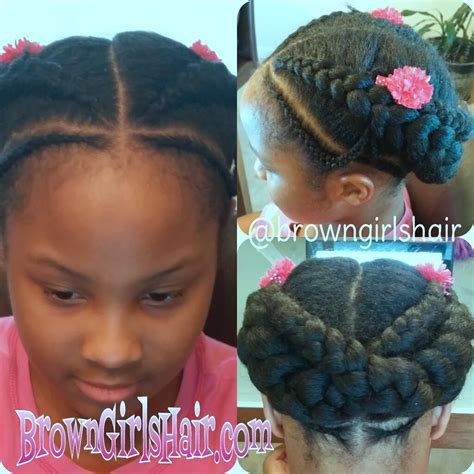 Cornrow Hairstyles For Ages 8 10 by Brown Hair 2 Cornrow Styles