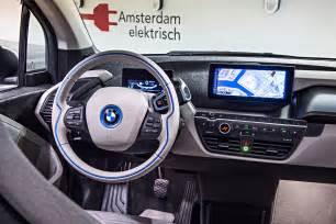 bmw i3 electric car interior autos gallery