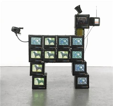 Houses For Sale by Watchdog By Nam June Paik On Artnet