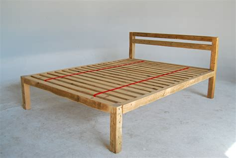 Handmade Bed Frame Plans - diy platform bed frame woodworking plans pdf