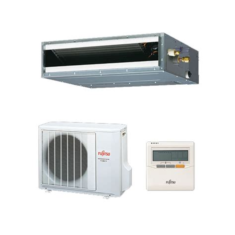12 5kw mitsubishi electric ducted inverter changeover existing fujitsu air conditioning aryg12lltb slimline convertible concealed duct heat pump inverter 3 5kw