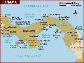 panama south america map the united states in panama