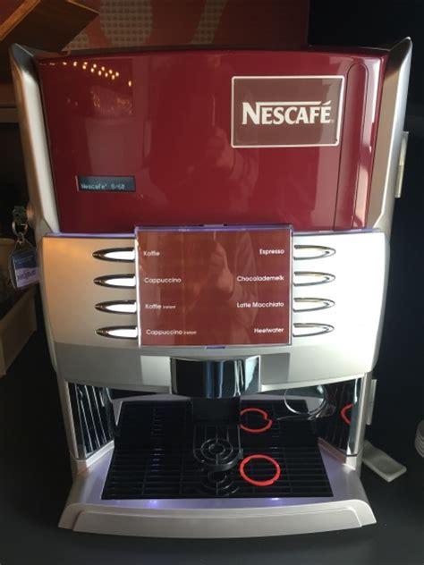 nescafe koffiemachine nescafe koffiemachine met verse bonen horecamarktplein nl