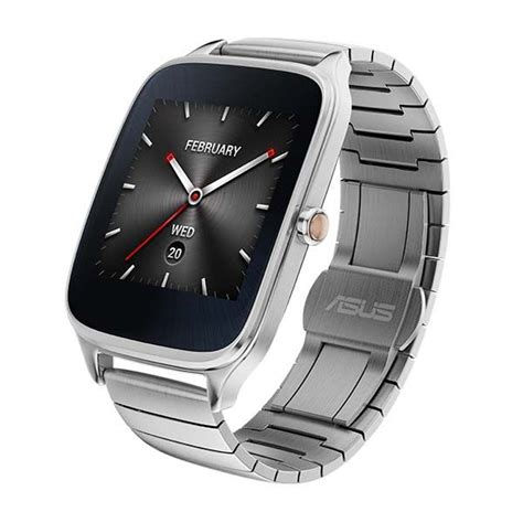 Smartwatch Zenwatch 2 asus zenwatch 2 smartwatch boasts crown button changeable straps and two sizes gadgetsin