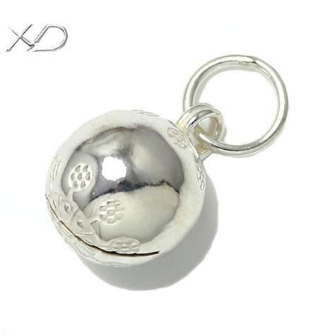 925 sterling silver jingle bells 11mm jewelry bells