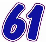 Race Car Number Gallery Details