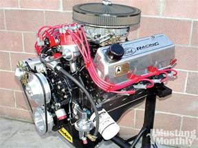 Ford 351 Cleveland Mump 1006 01 O 351 Cleveland Four Barrel Engine Engine