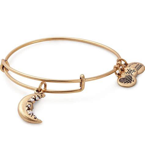 charm bracelet crescent moon charm bracelet alex and ani