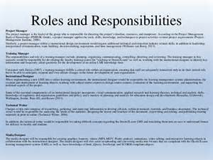 Roles And Responsibilities Of A Program Manager by Team Quot C Quot Organizational Plan Roles Responsibilities