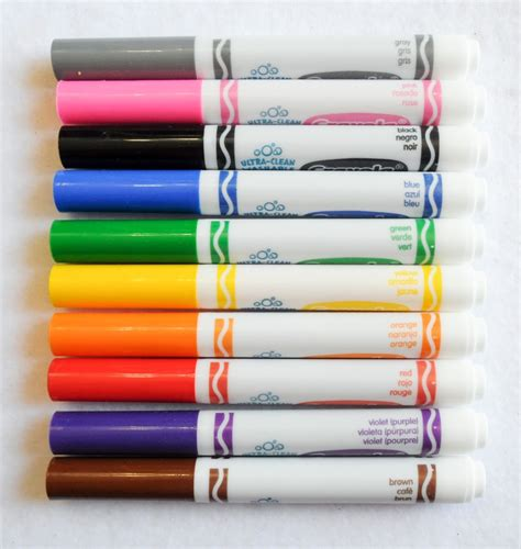 color markers crayola ultra clean washable markers color max what s