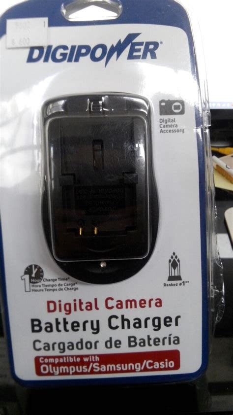 cargador bateria camara olympus cargador de bateria para camaras digitales samsung olympus