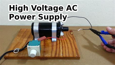 high voltage pulse generator diy diy high voltage ac power supply