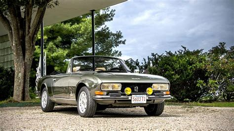 peugeot 504 cabrio a ride in a 1975 peugeot 504 v6 cabriolet autoweek