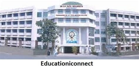 Dy Patil Mba Fees by Dr D Y Patil Vidyapeeth Courses Fee Structure 2018 19