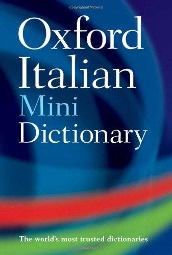 libro oxford mini dictionary and 9780199534340 oxford italian mini dictionary abebooks oxford university press 0199534349