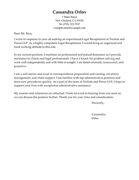 firm cover letter how to write a cover letter for a firm 7441