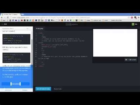 php tutorial youtube new boston solving codecademy php tutorials youtube