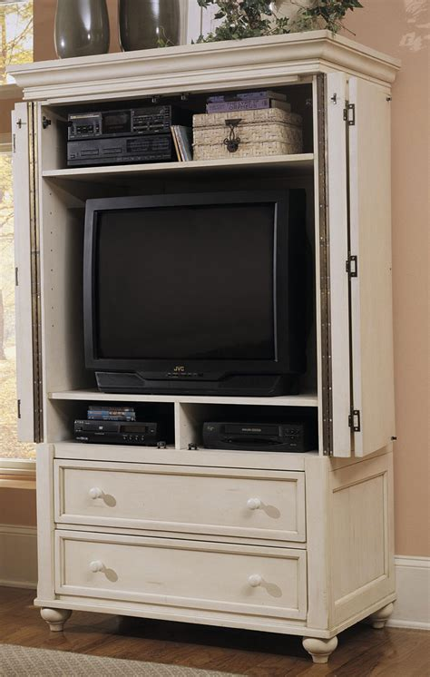 White Tv Armoire by Klaussner Treasures White Tv Armoire 842690tvar