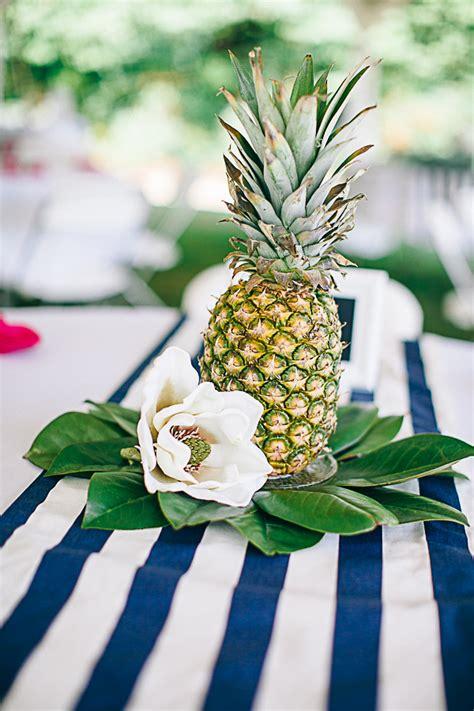 pineapple centerpieces ideas pin it