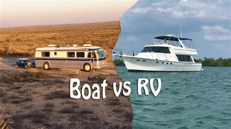 boat vs rv first impressions of living aboard a boat - Living On A Boat Vs Rv