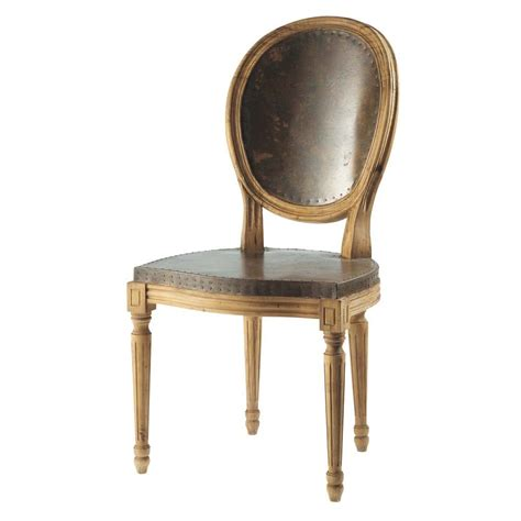 chaise fer louis maisons du monde