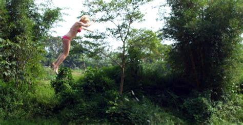 russian rope swing rope swing fail faceplant video ebaum s world