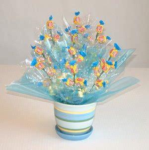 arreglos de mesa para bautizo con golosinas centros de mesa con dulces paso a paso solountip