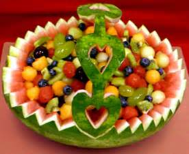 how to make a fruit basket how to make a watermelon fruit basket by gourmandise ifood tv