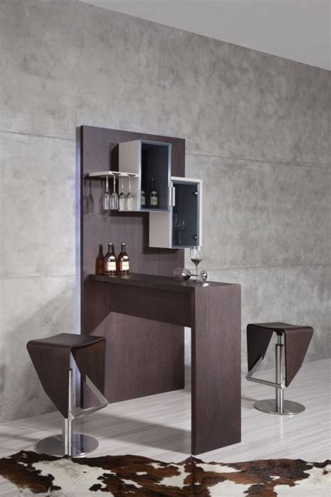 create a bar at home with a modern bar unit la
