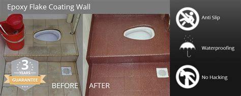 Epoxy Flake Coating Floor & Wall Supplier Johor Bahru (JB