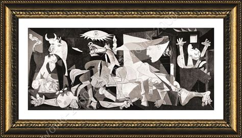 posters for bedroom framed poster guernica pablo picasso framed wall