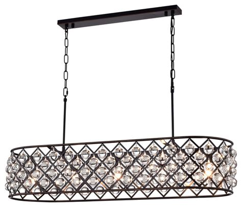 oil rubbed bronze dining room light antique bronze rectangular crystal chandelier dining room