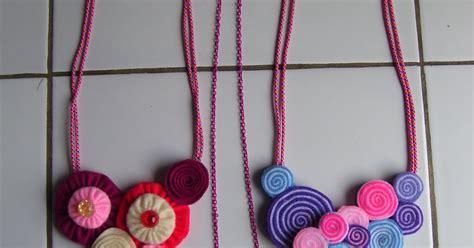 membuat gelang dari kain my world cara membuat kalung dari flanel dan kain perca halus