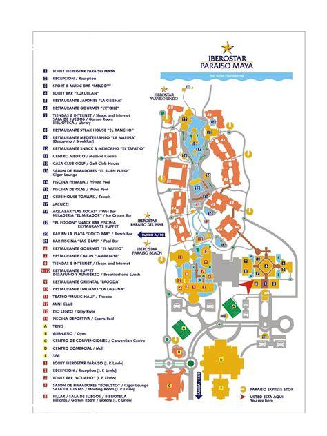 iberostar resort map iberostar tucan vs lindo playa paraiso forum tripadvisor