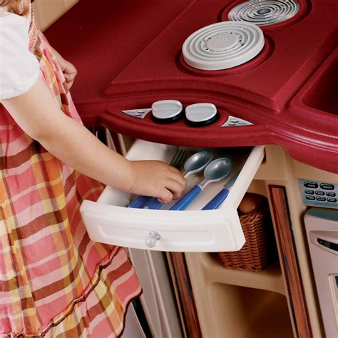 Step 2 Lifestyle Partytime Kitchen by Lifestyle Partytime Kitchen Play Kitchen Step2