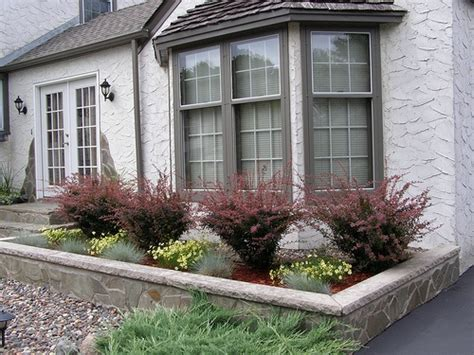 Bay Window Garden Ideas Landscaping Landscaping Ideas Front Yard Bay Window