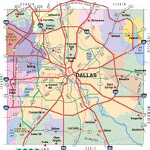 dallas texas county map map of dallas county texas my