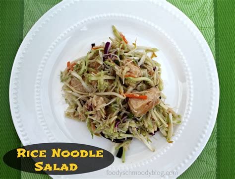 rice noodle salad asian rice noodle salad foody schmoody blog foody